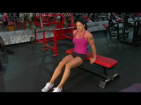 How to Do Triceps Bench Dips