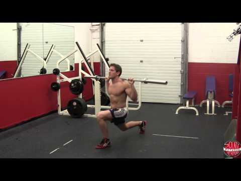 How To: Barbell Stepping Lunge