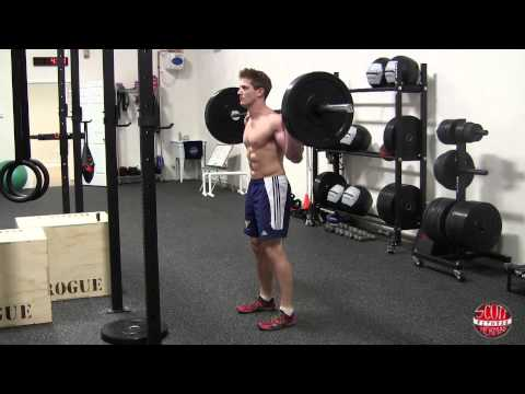 How To: Standing Barbell Calf Raise