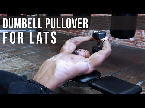 DUMBBELL PULLOVER FOR THE LATS