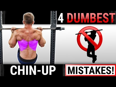 4 Dumbest Chin-Up Mistakes Sabotaging Your BACK / BICEPS GROWTH! STOP DOING THESE!