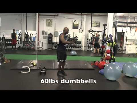Best Combat Exercise - Double Dumbbell Swings
