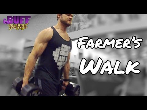 How to Perform the Farmer's Walk - Exercise Tutorial