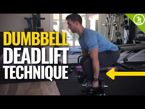 Dumbbell Deadlift Technique – Perfect Form Video Tutorial Guide