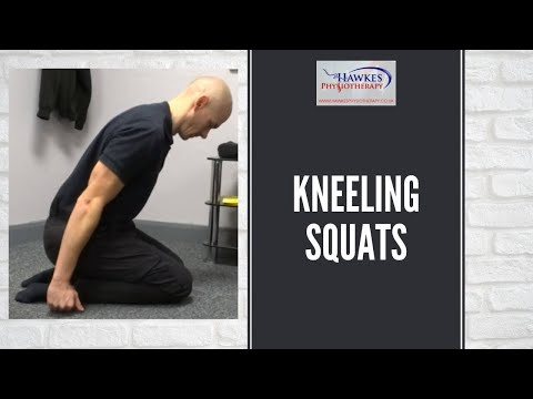 Kneeling Squats: Technique video