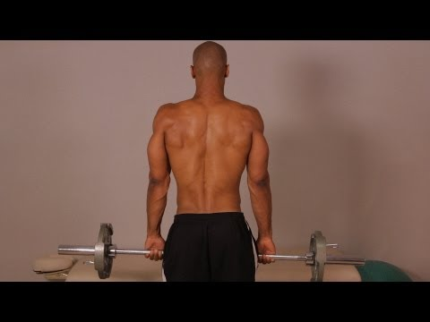 How to Do a Standing Barbell Shrug | Back Workout