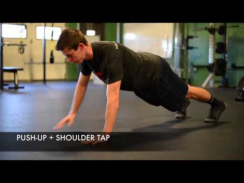 Push-up Plus Shoulder Tap