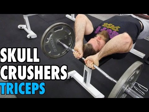 Skull Crushers | Triceps | How-To Exercise Tutorial