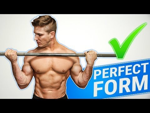 How To: Barbell Bicep Curl | 3 GOLDEN RULES