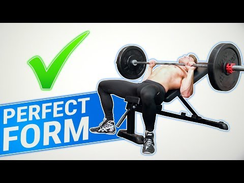 How To: Incline Barbell Bench Press   3 GOLDEN RULES! (MADE BETTER!)