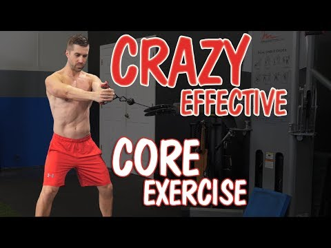 Could This Be the SAFEST & Most Effective Core Exercise? (Anti-Rotational Pallof Press)
