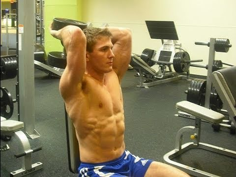 How To: Dumbbell Seated Overhead Tricep Extension