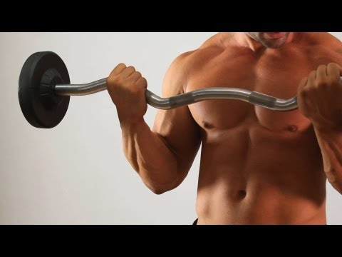 How to Do a Barbell Curl | Arm Workout