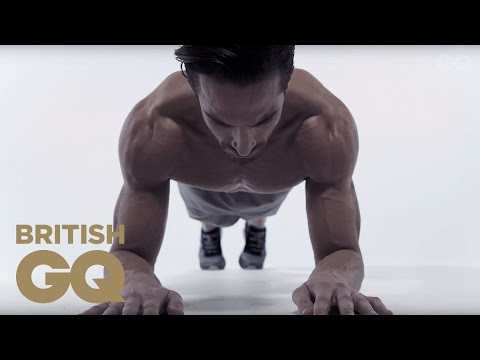 Core Exercise: Plank To Push Up | Fitness | British GQ