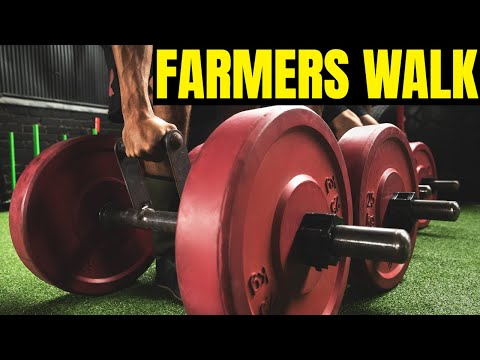 The Farmer's Walk Dumbbell Tutorial - Discover the Benefits
