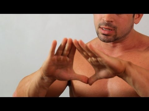 How to Do a Diamond Push-Up   Arm Workout