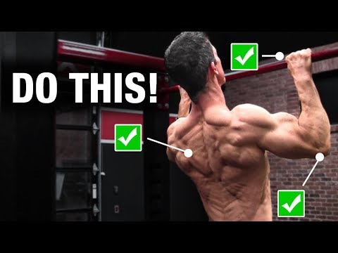 The Official Pull-Up Checklist (AVOID MISTAKES!)