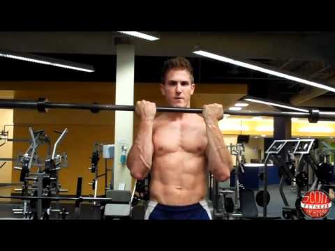 How To: Close-Grip Straight-Bar Bicep Curl