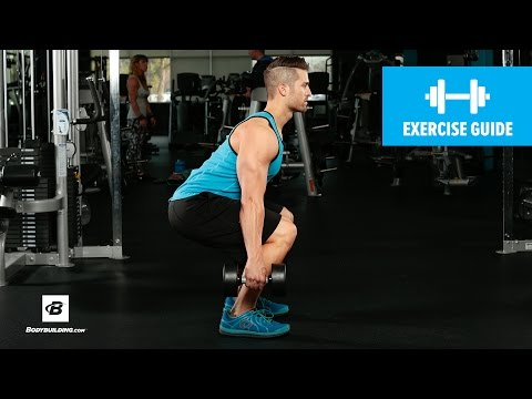 How to Dumbbell Squat | Mike Hildebrandt