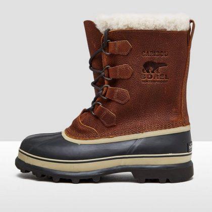 Met deze bruine Sorel heren boots trotseer je sneeuw en gladheid in een handomdraai