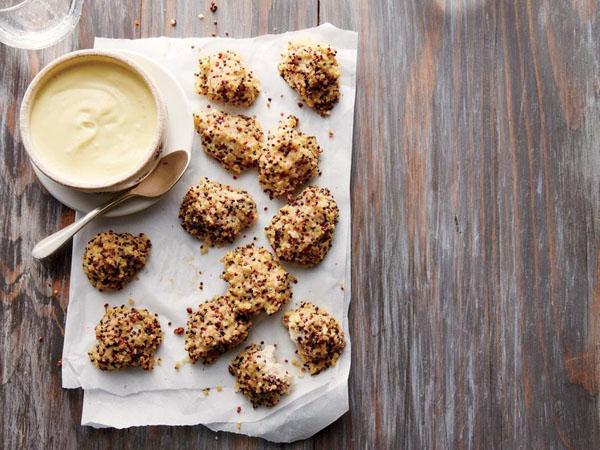 Quinoa variatietip: eet het met kipnuggets!