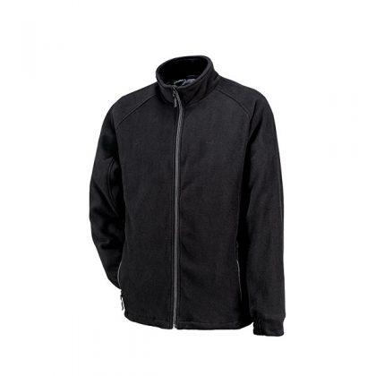 In dit zwarte Kjelvik vest voor heren blijf je lekker warm in de winter