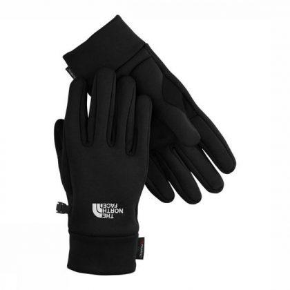 Deze zwarte The North Face handschoenen voor heren hebben een verbeterde grip