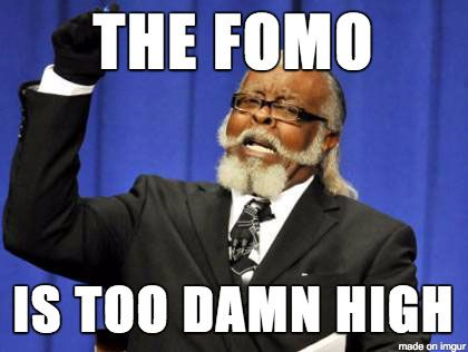 Ook een crypto expert is gevoelig voor FOMO!