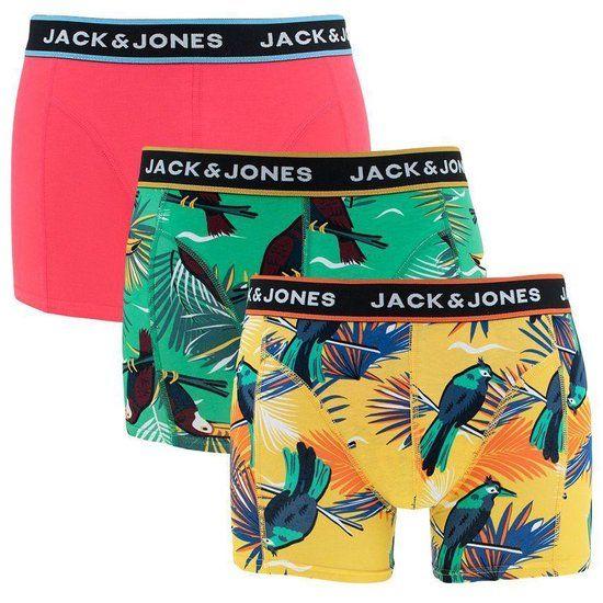 Opvallen doe je zeker met de beste onderbroeken van Jack & Jones.