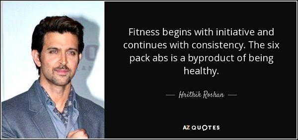 Deze quote over je buik trainen vergeet je niet snel!