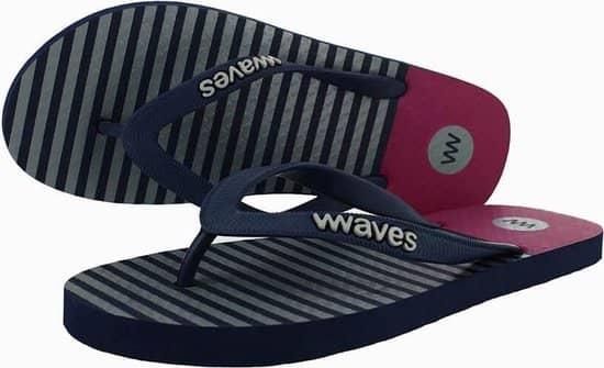 Dit zijn zonder twijfel de beste slippers van Waves: hoge kwaliteit, leuke print en duurzaam!