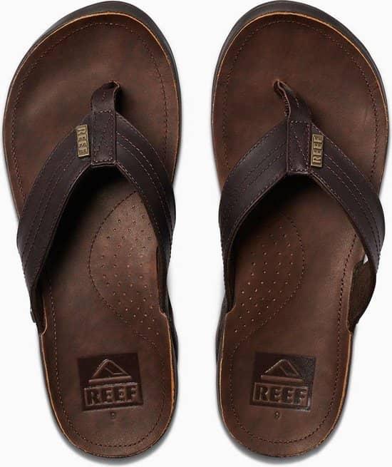 Het merk Reef heeft veel luxe, leuke slippers.