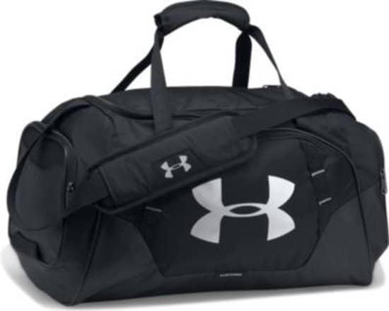 Voor een goede sporttas van hoge kwaliteit kun je onder andere bij Under Armour terecht.