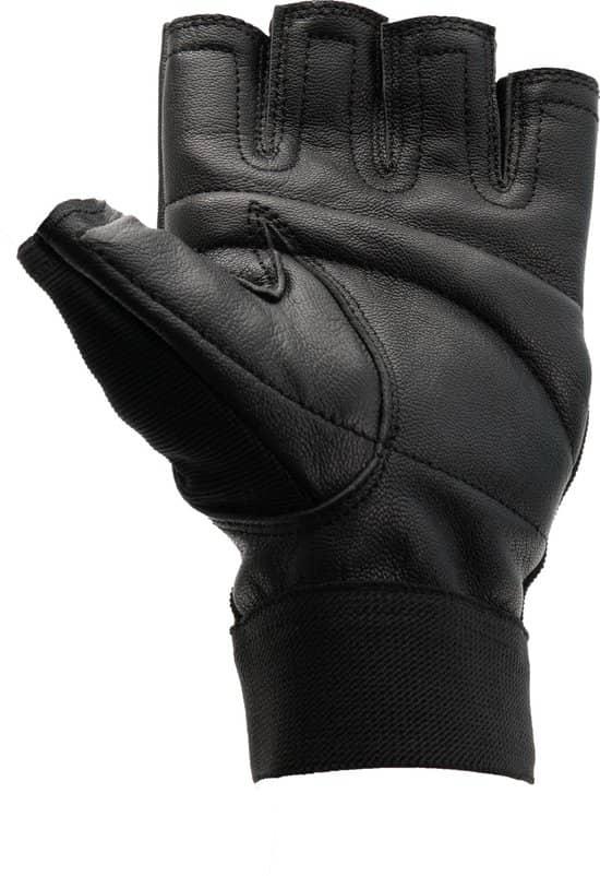 De beste fitness handschoenen zijn vaak gemaakt van leer.